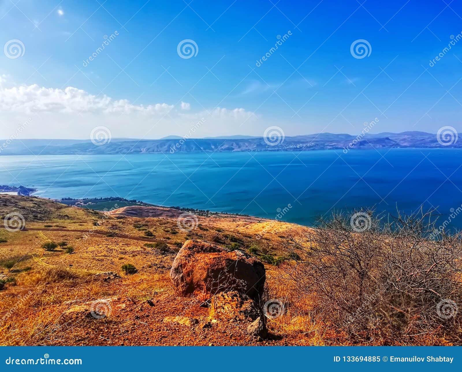 Region In Israel: Jordan Rift Valley, Golan Heights, Galilee  Sea Of