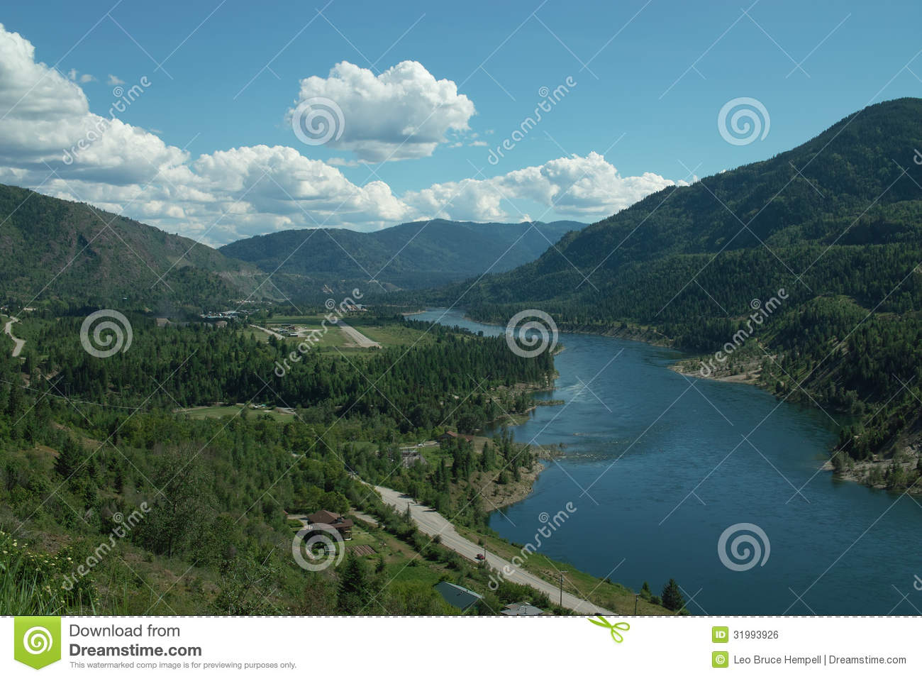 Trail (BC) Canada  city pictures gallery : Regional Airport, Trail BC, Canada. Royalty Free Stock Image Image ...