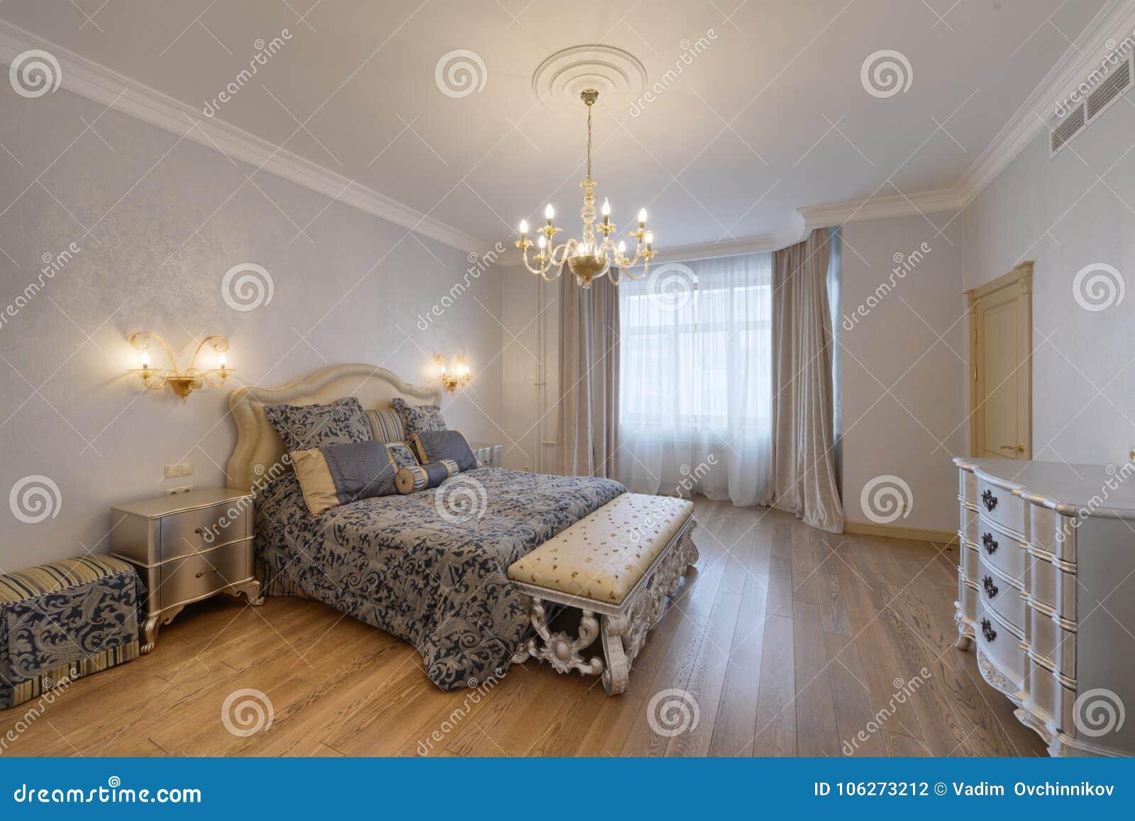 Camera Da Letto Matrimoniale Nuova.Regione Della Russia Mosca Interno Della Camera Da Letto In Una