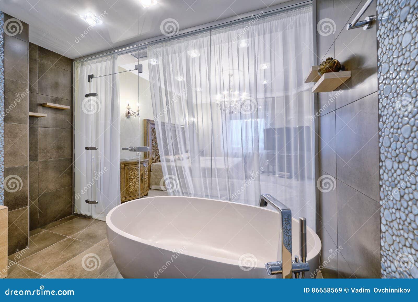 Bagni Per Case Di Campagna : Regione della russia mosca interno del bagno in nuova casa di
