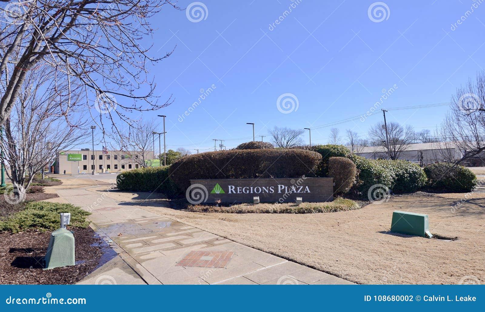 Regions Bank Plaza, West Memphis, Arkansas Editorial
