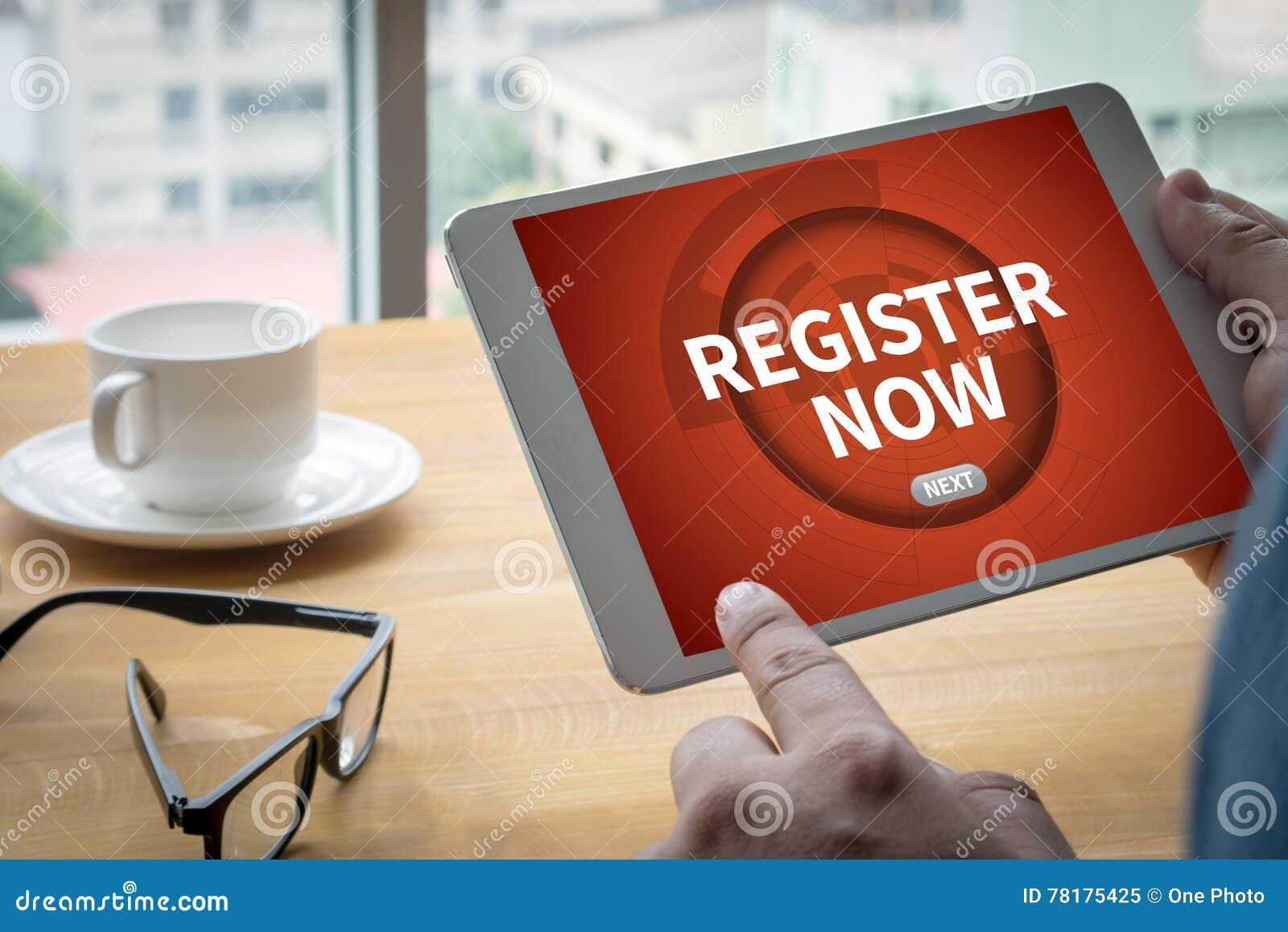Register jetzt