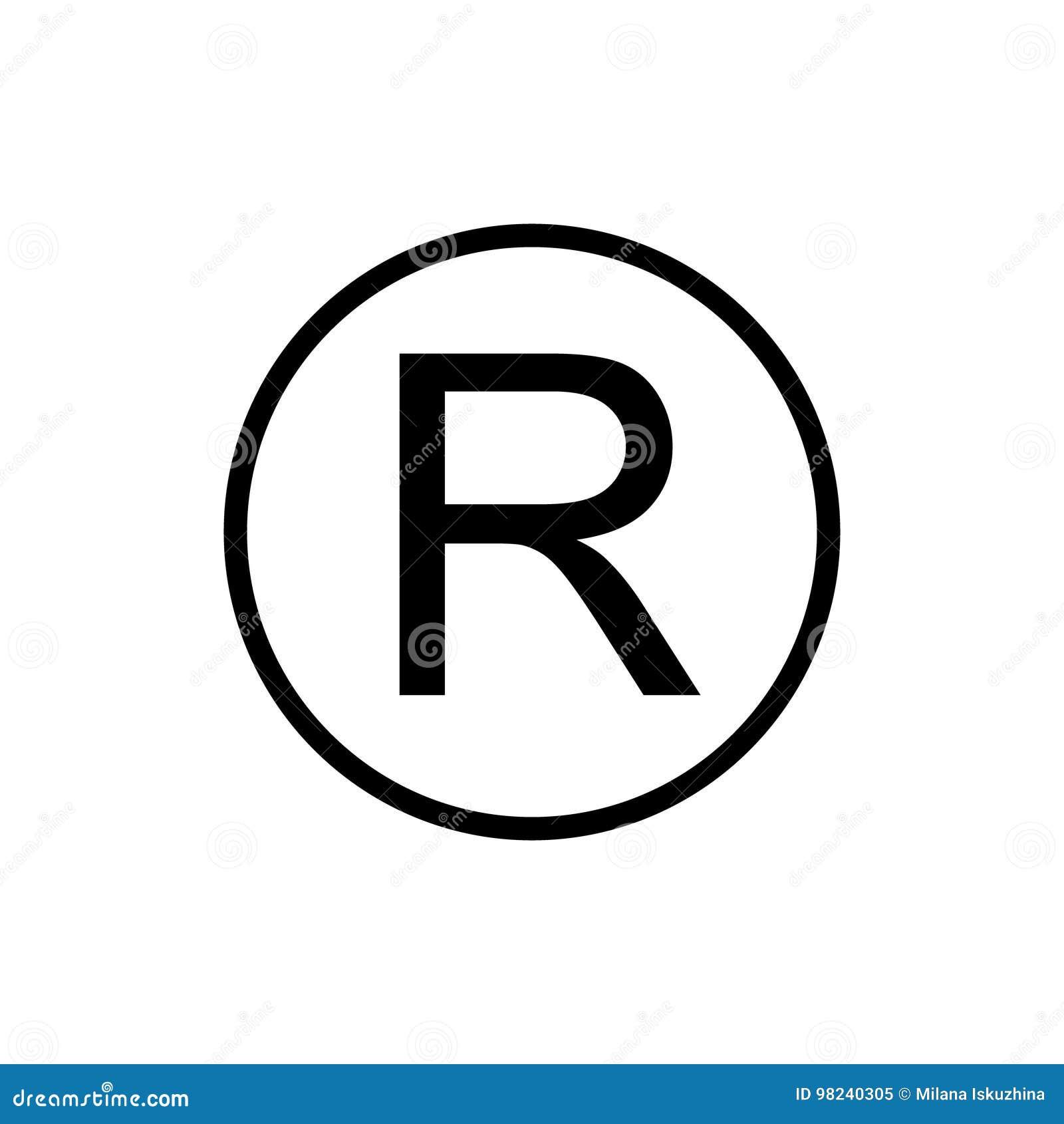 Registered Trademark Stock Illustrations 687 Registered Trademark