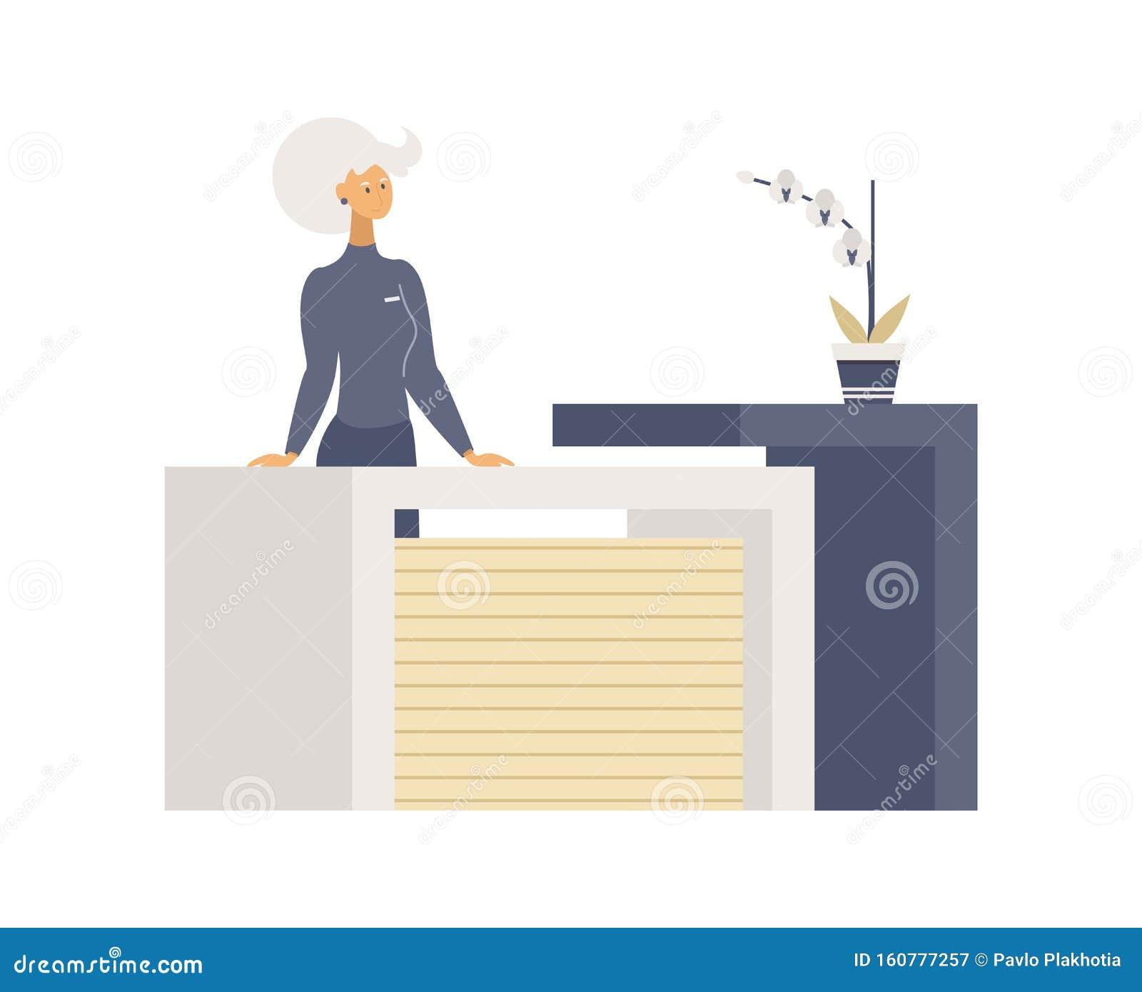 Cartoon Receptionist Stock Illustrations 1 777 Cartoon Receptionist Stock Illustrations Vectors Clipart Dreamstime