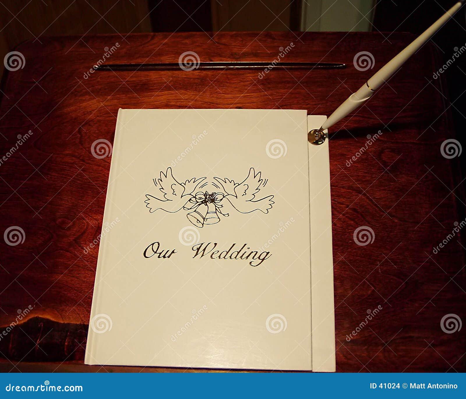 Registrazione di cerimonia nuziale