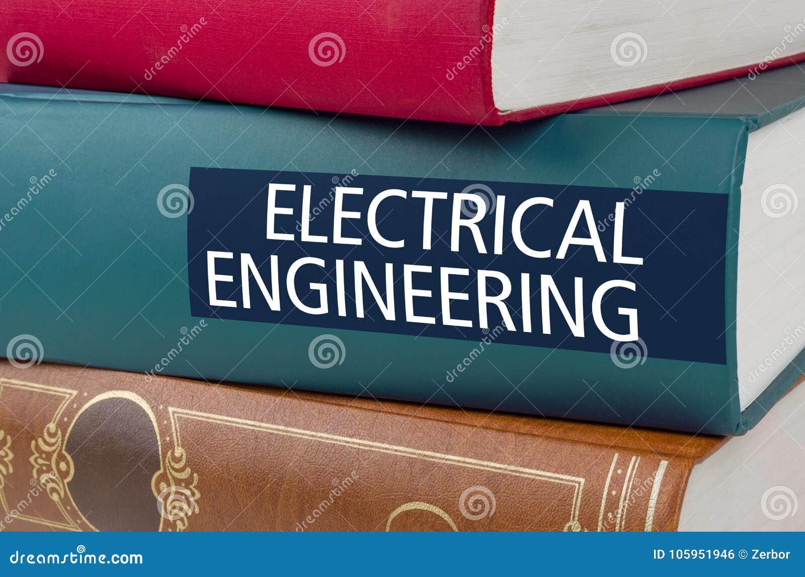 Registre com a engenharia elétrica do título escrita na rotação