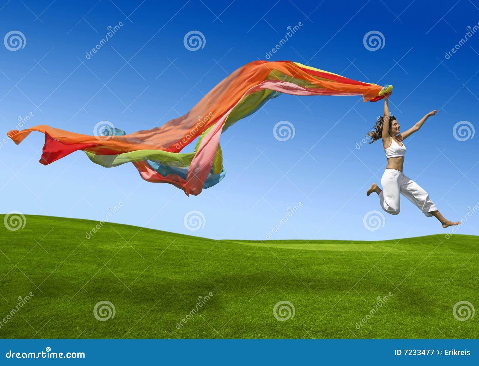 Regnbågekvinna
