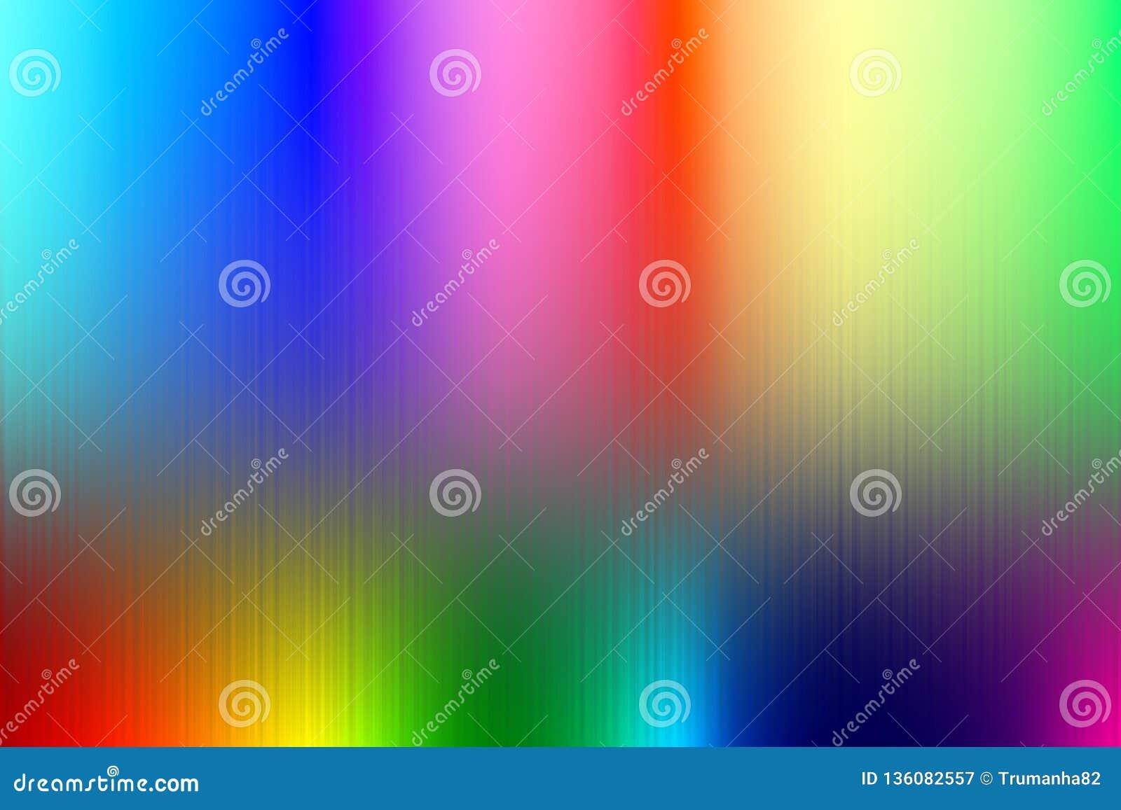 Regnbågen färgar band för abstrakt bakgrund