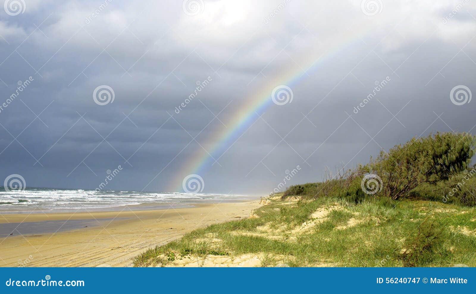 Regnbågestrand, Queensland, Australien