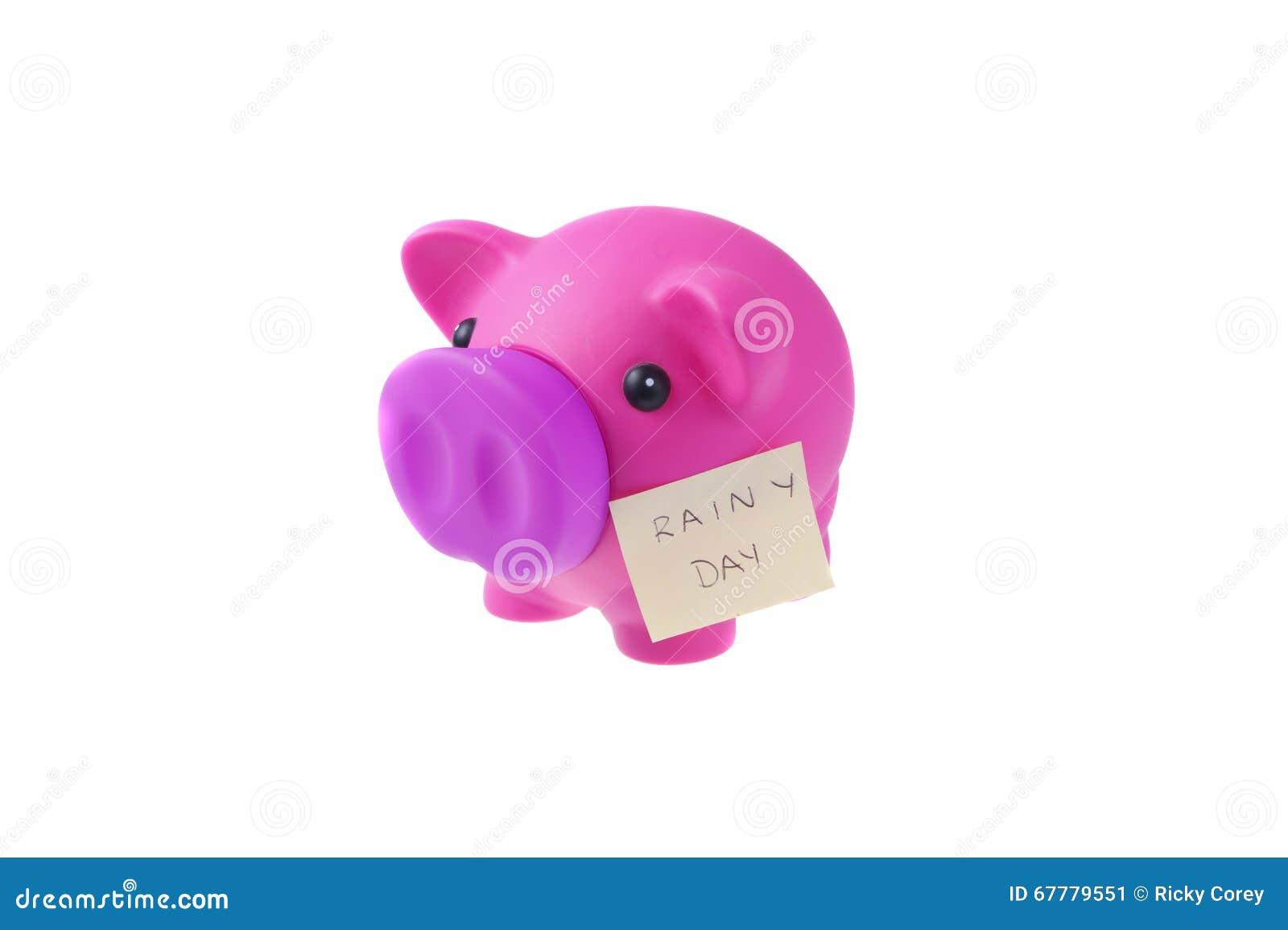Regniga besparingar för dag