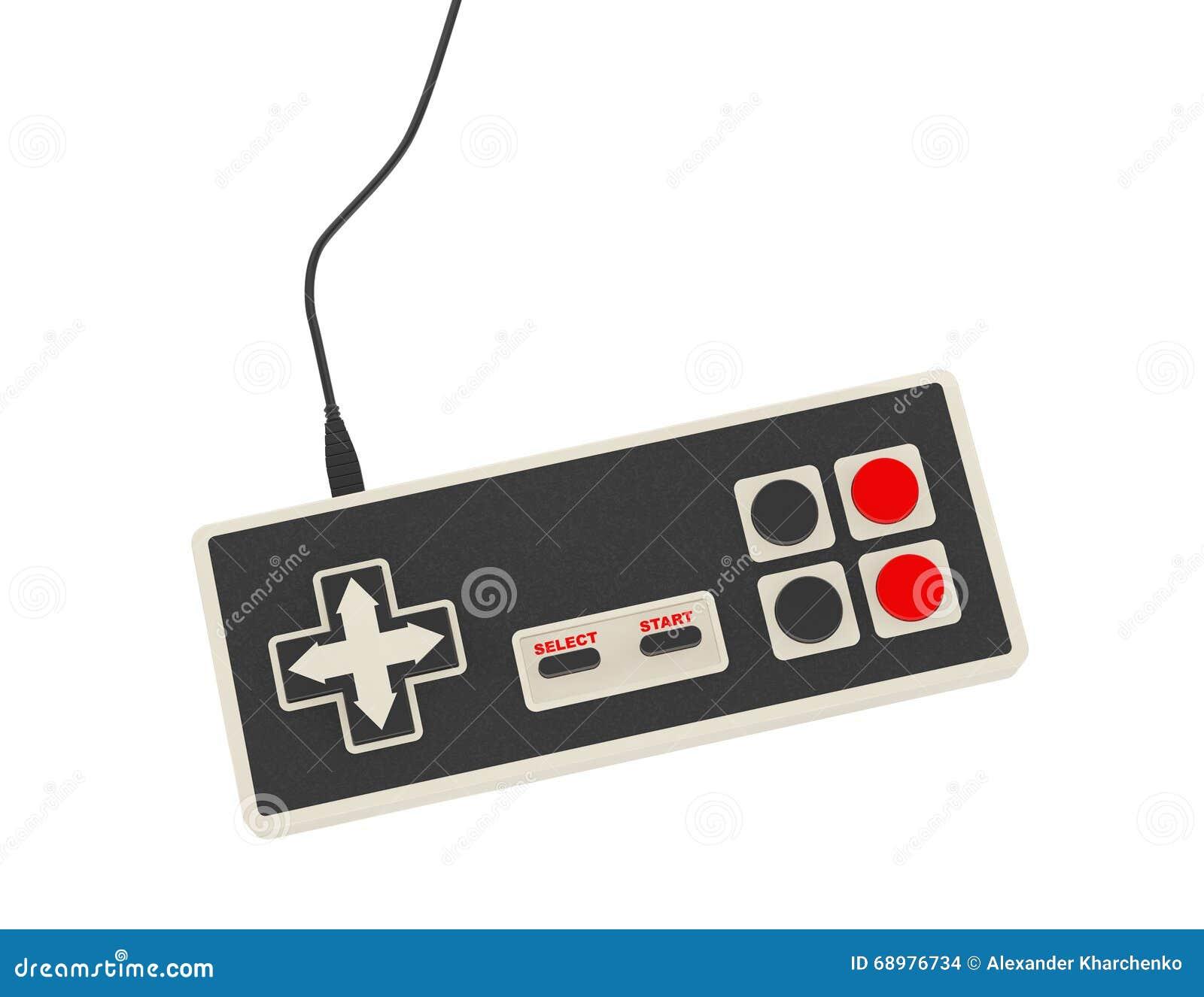 Regulador abstracto retro del juego