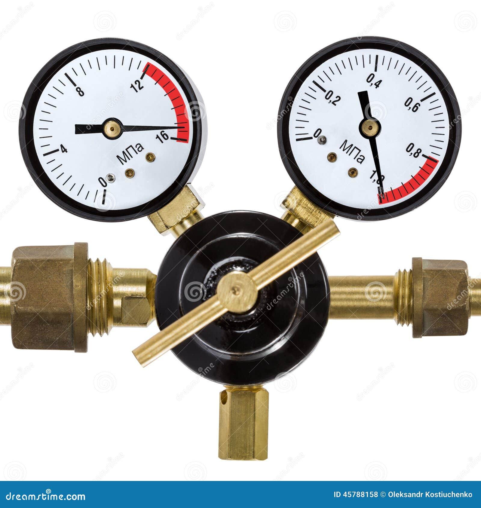 Regulador de presi n de gas con el man metro aislado en for Regulador de gas natural precio