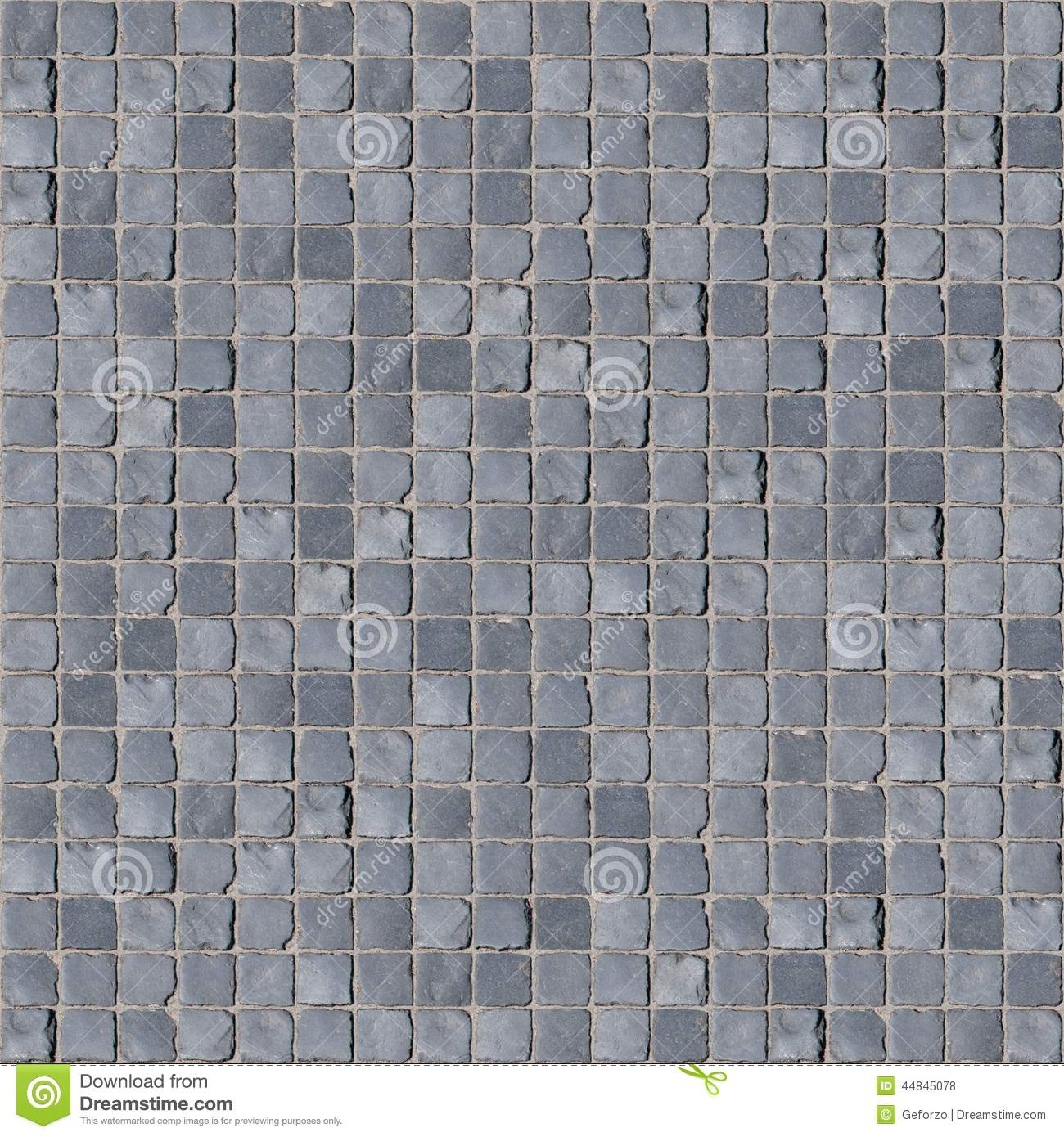 Regular Cobblestone Texture Stock Photo Image 44845078
