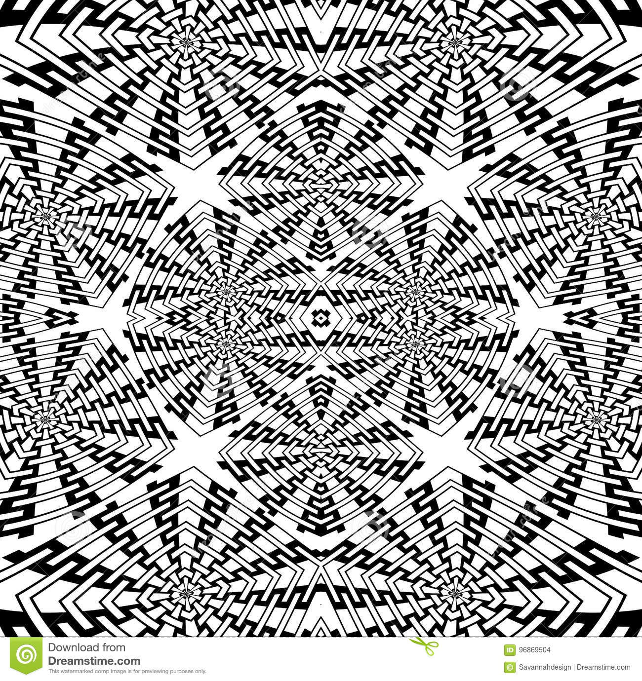 Complex Geometric Coloring Pages - Coloring Home | 1380x1300