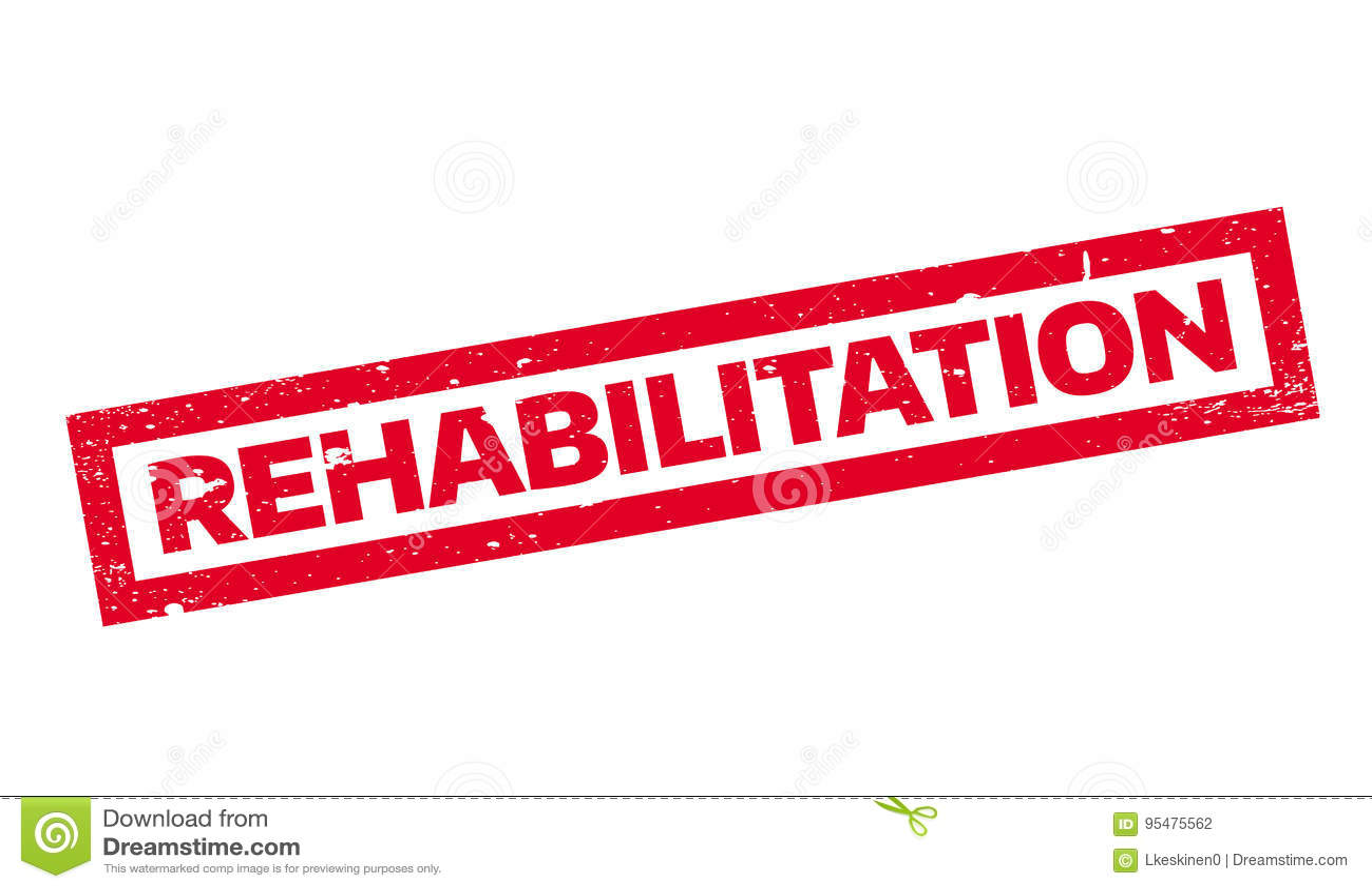 Rehabilitaci pieczątka