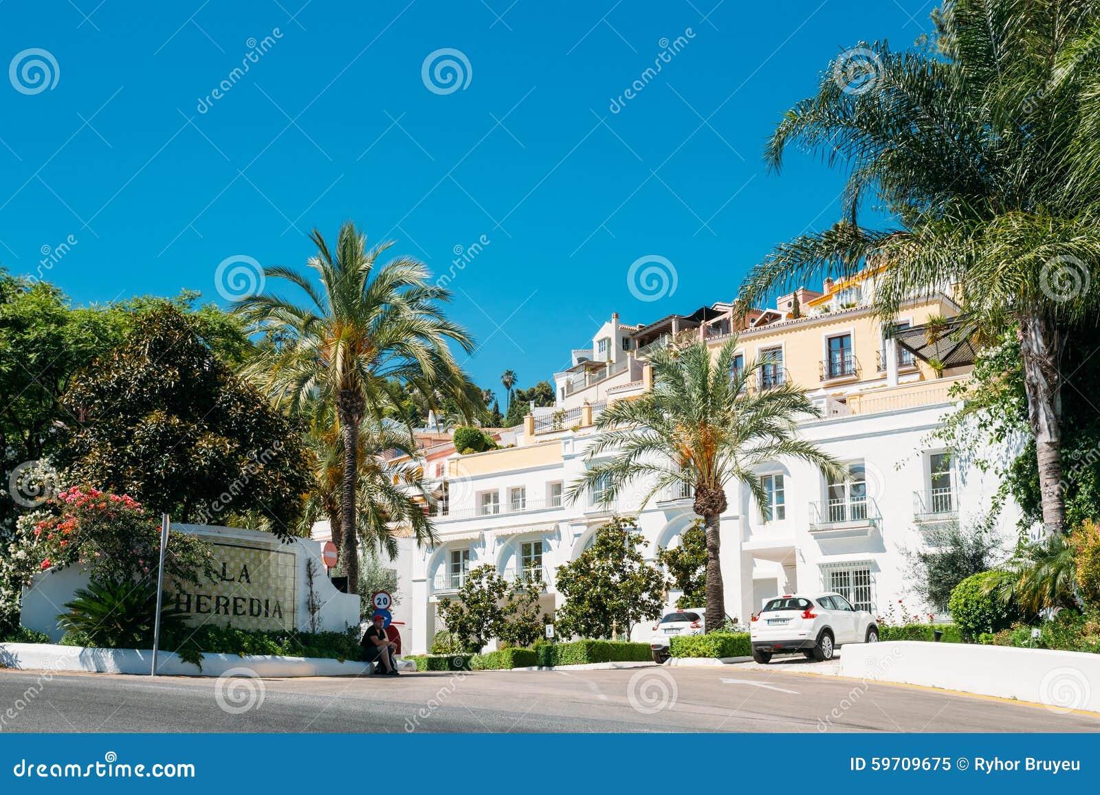 Rehabilitiertes Haus In Malaga Region Andalusien Redaktionelles