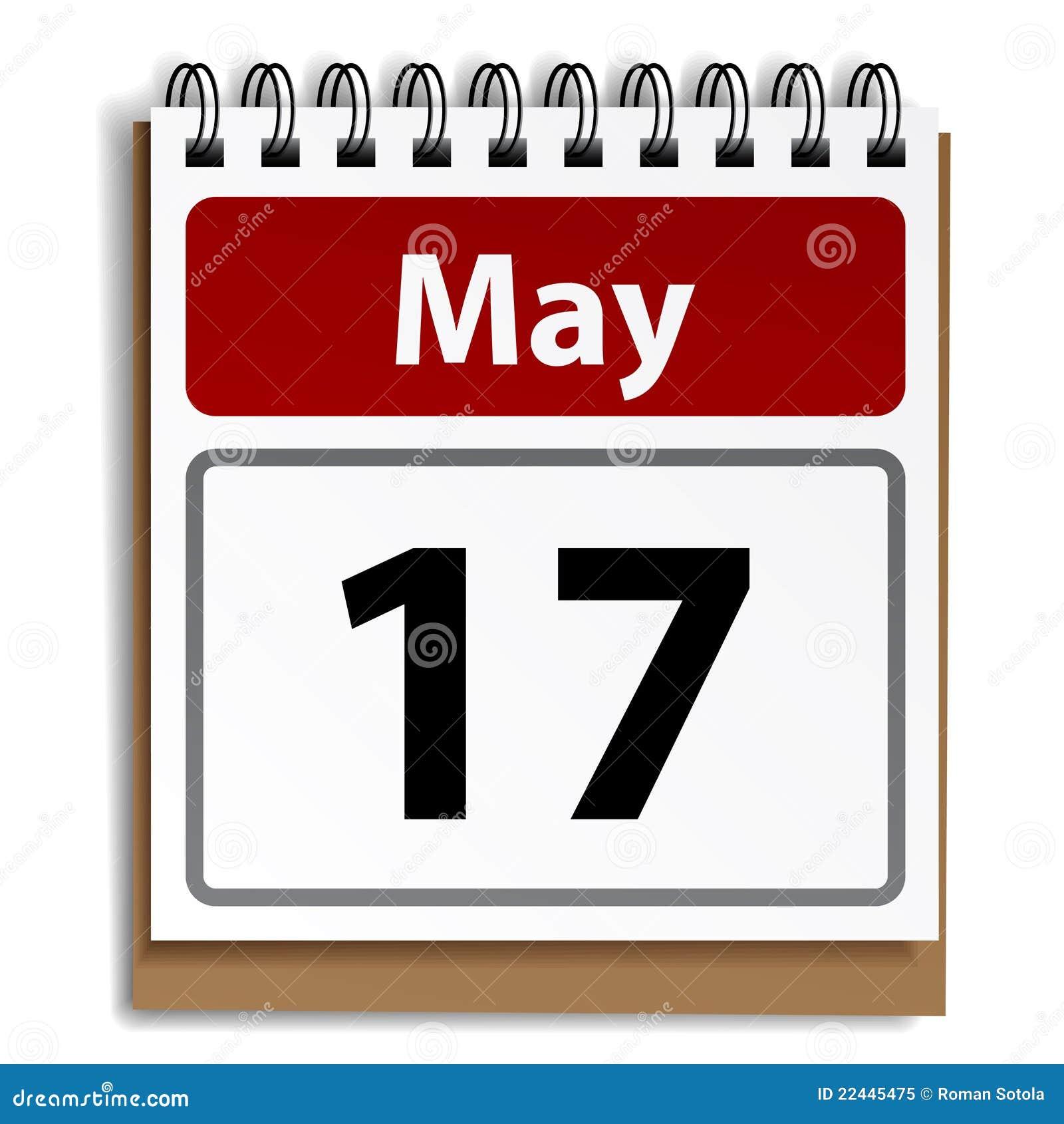 Reißen Sie Tageskalender Ab Vektor Abbildung - Illustration von ...