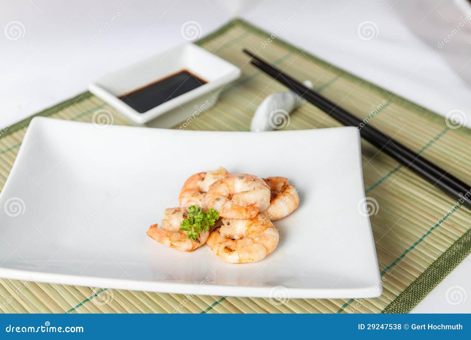 Download Rei Camarão foto de stock. Imagem de fritado, closeup - 29247538