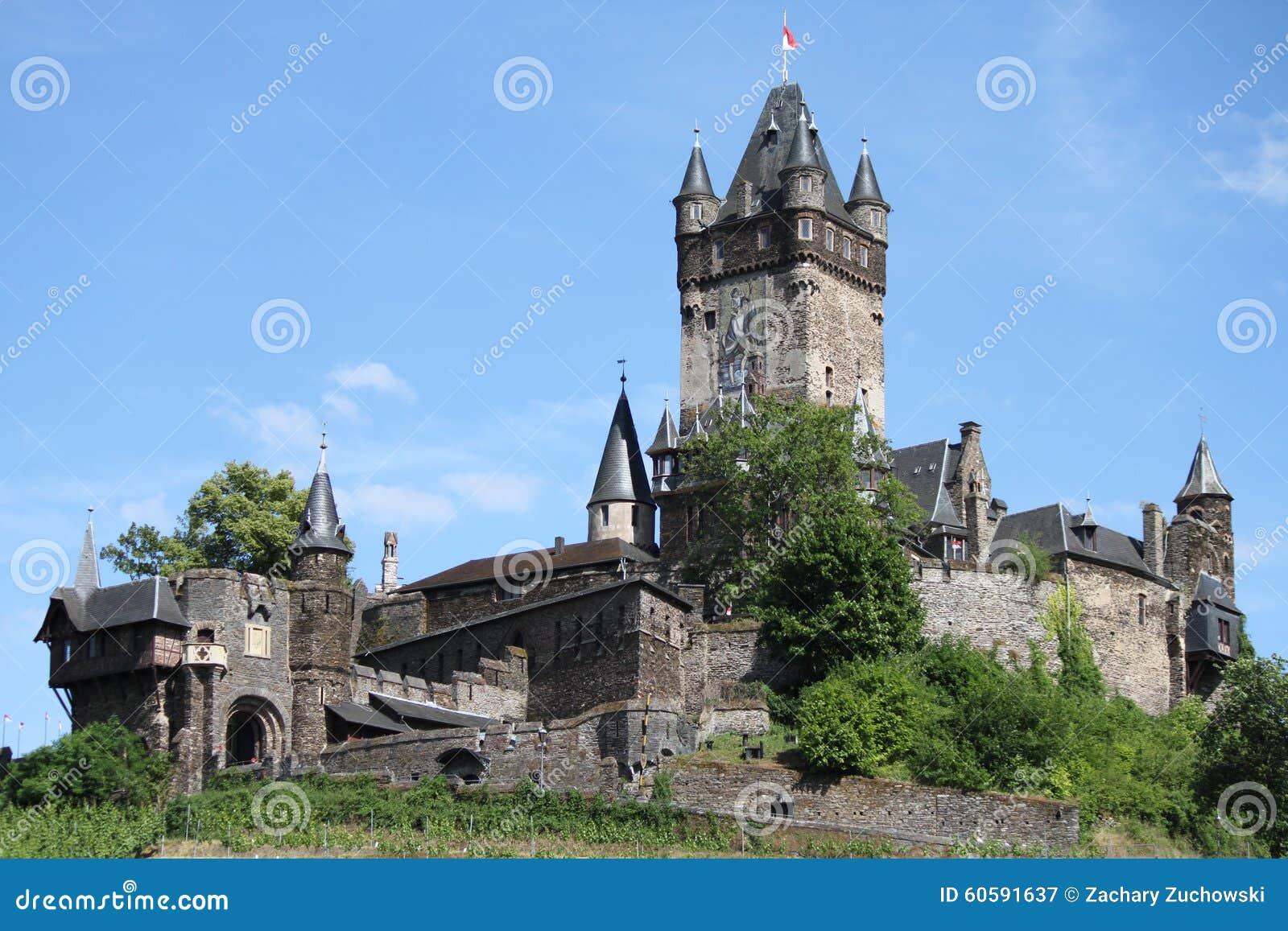 Reichsburg kasztel Cochem