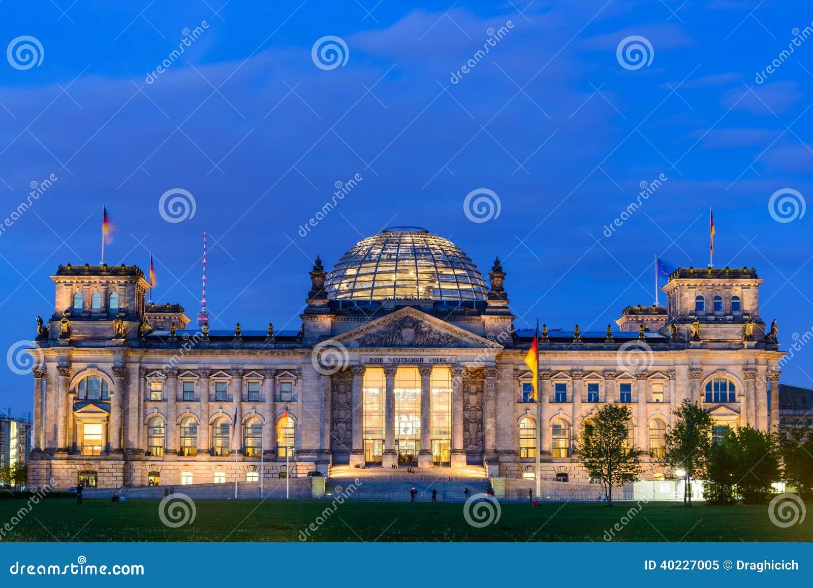 Reichstag в Берлине