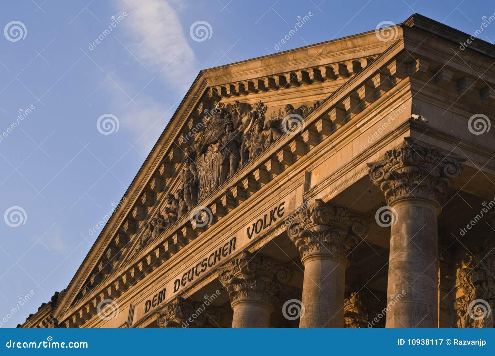 Reichstag детали здания