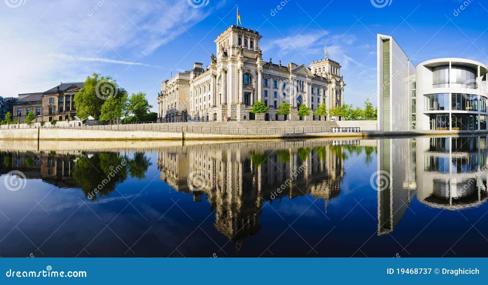 Reichstag панорамы berlin