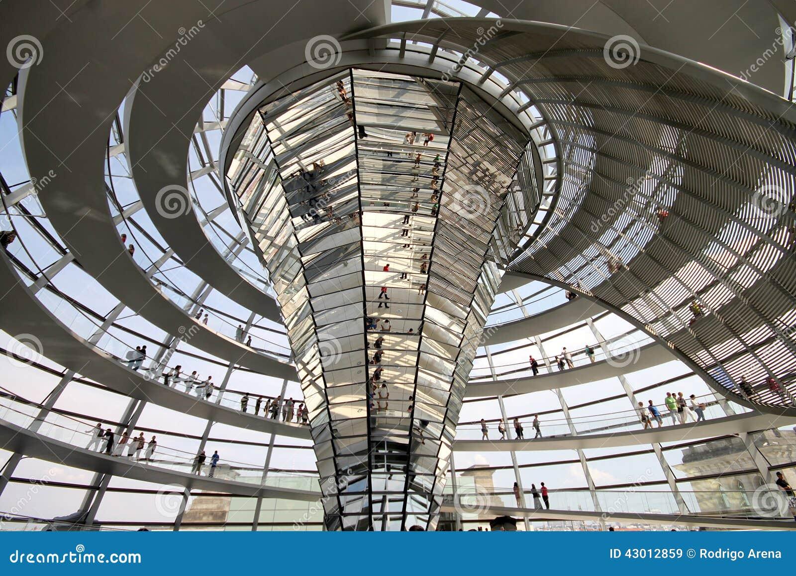 Reichstag hauben innenraum stockfoto bild 43012859 for Innenraum design berlin