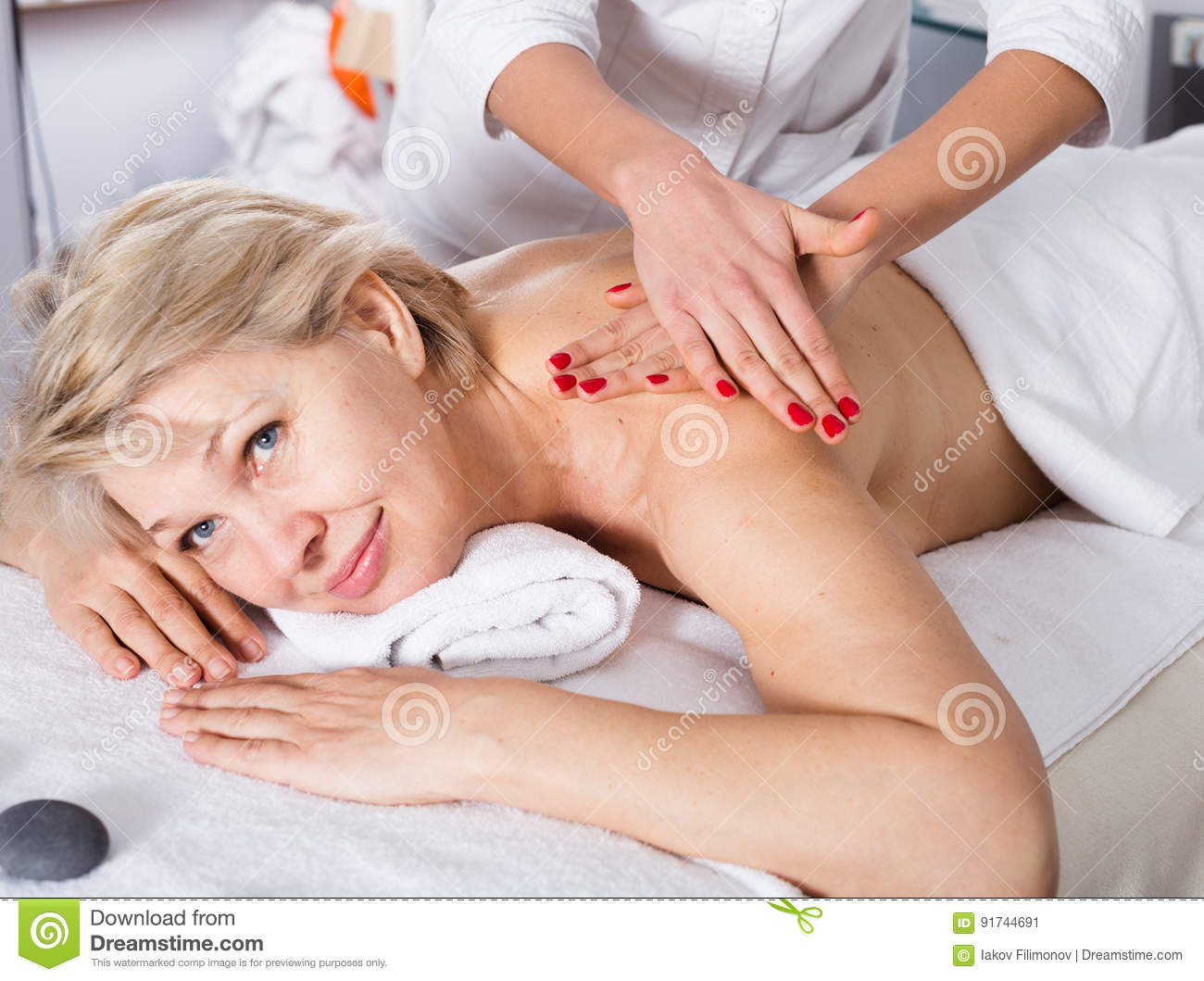 Reife frauen massage