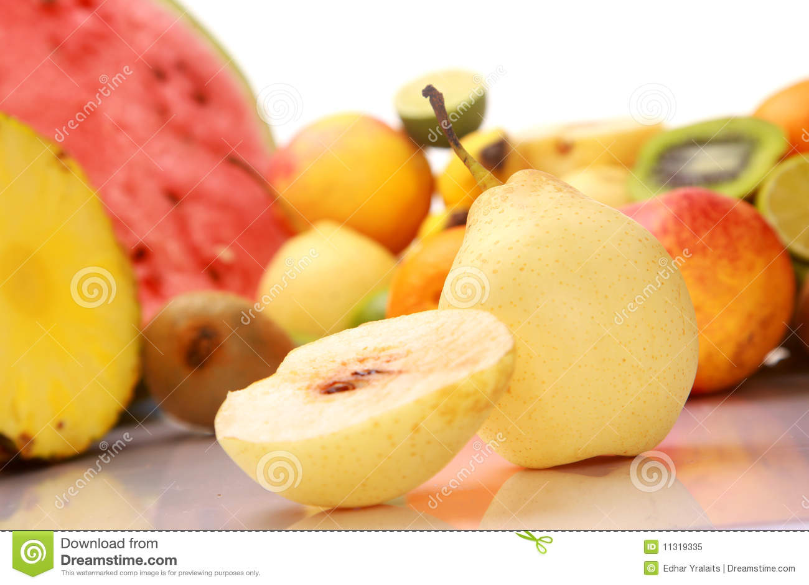 Reife frische Frucht