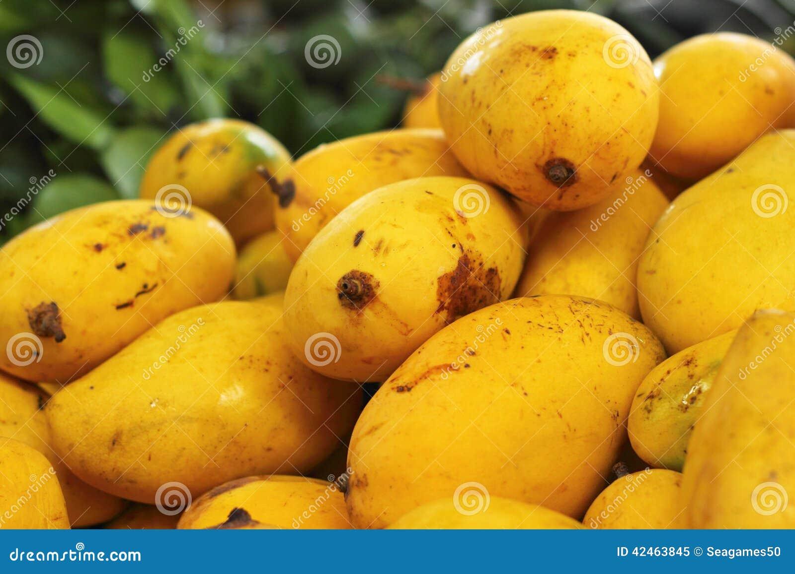 Reife Mango im Markt
