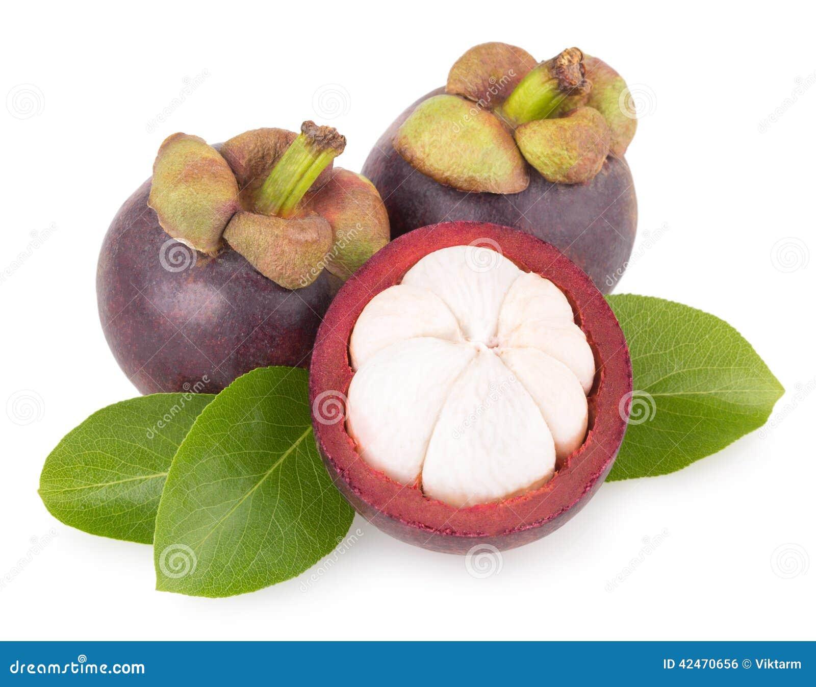 Reife Mangostanfrucht