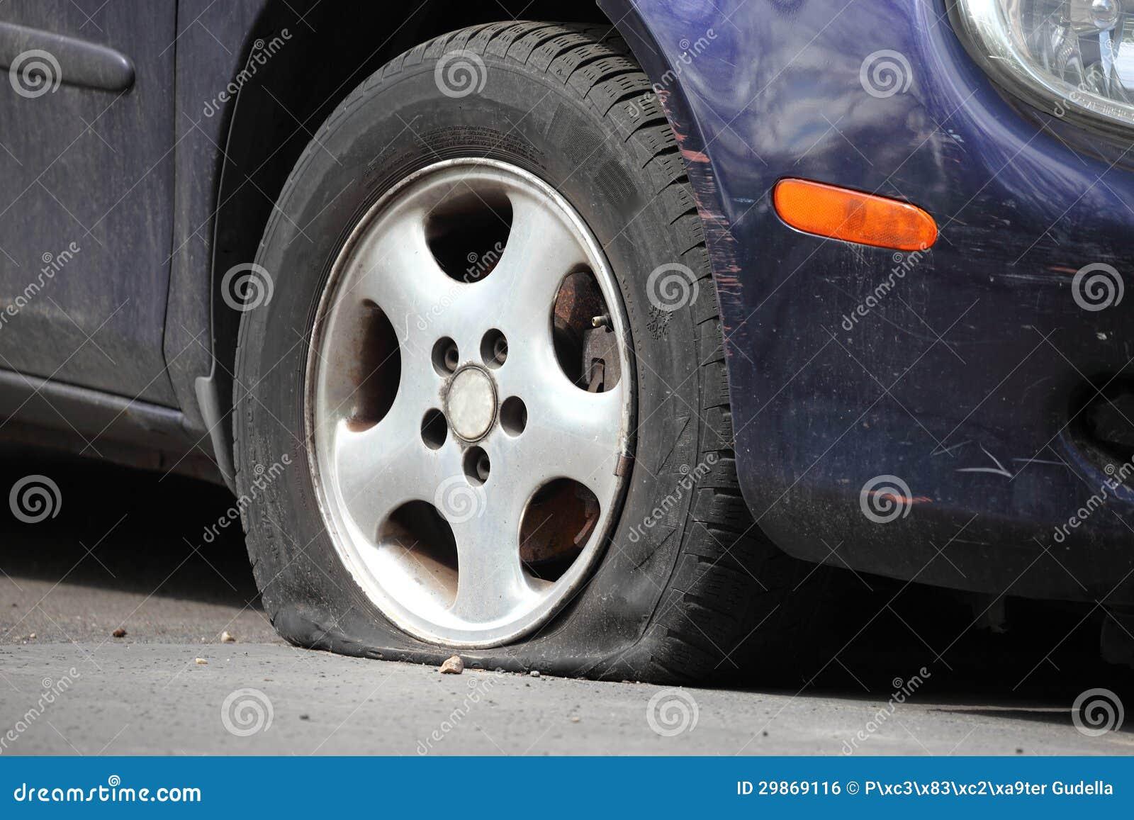 Reifenpanne