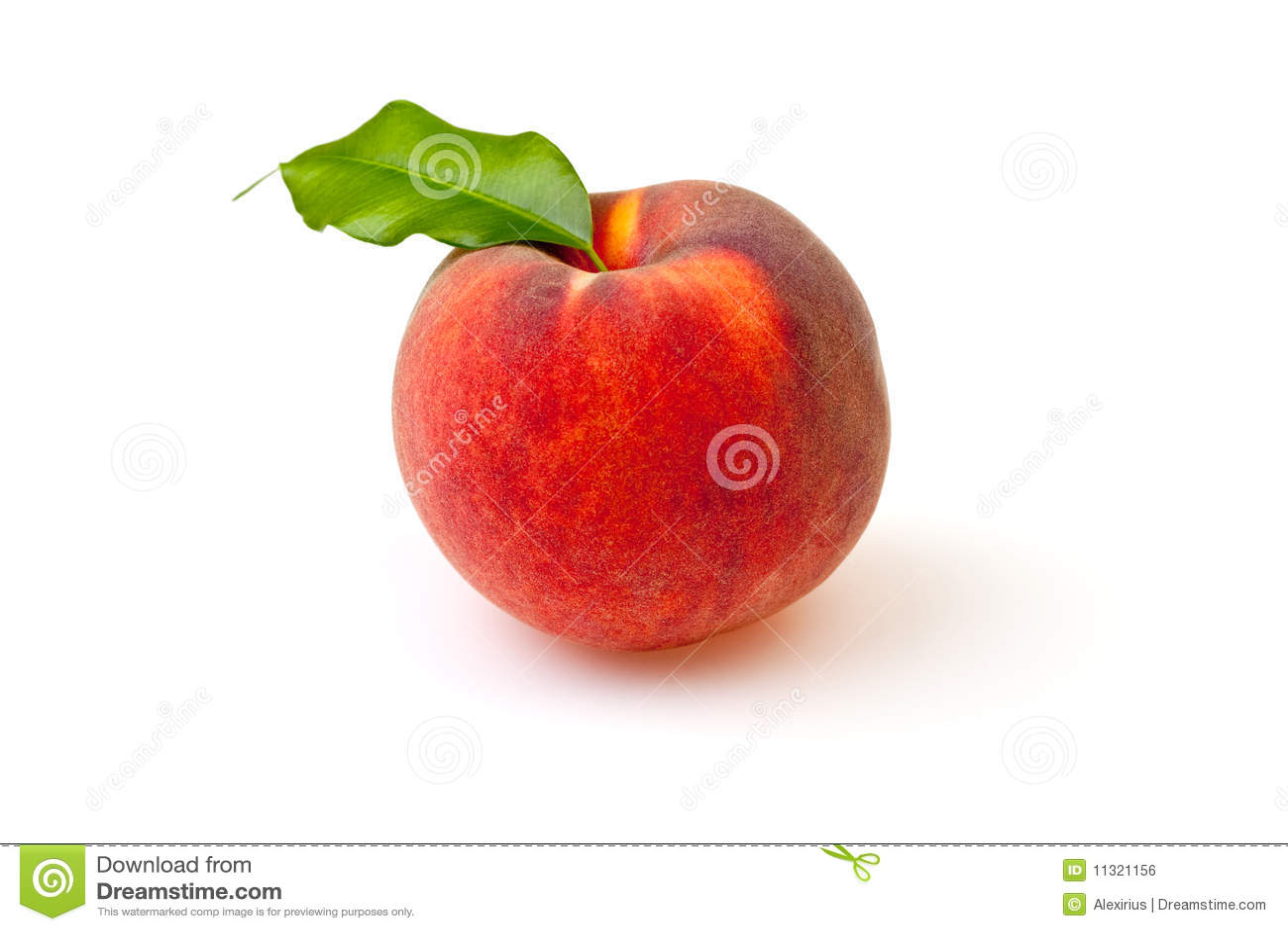 Reifer Pfirsich