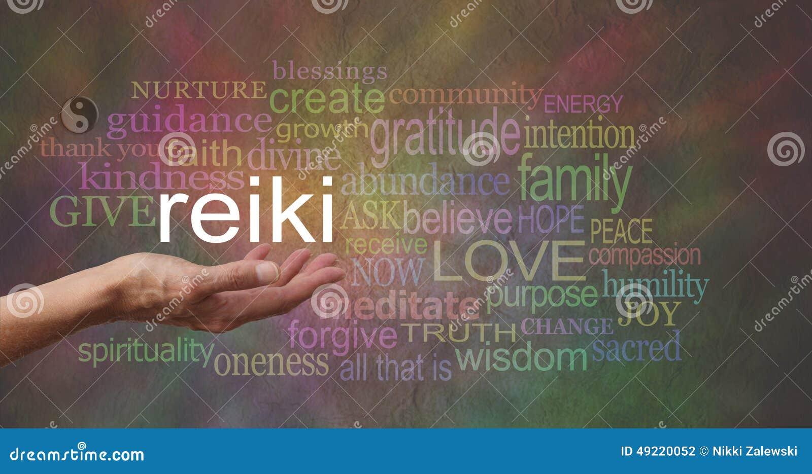 Reiki dans la paume de votre main
