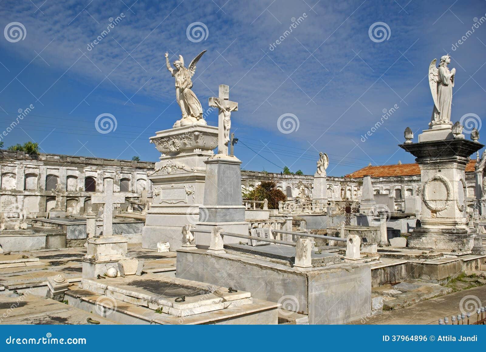 Reina Cemetery, Cienfuegos, Cuba