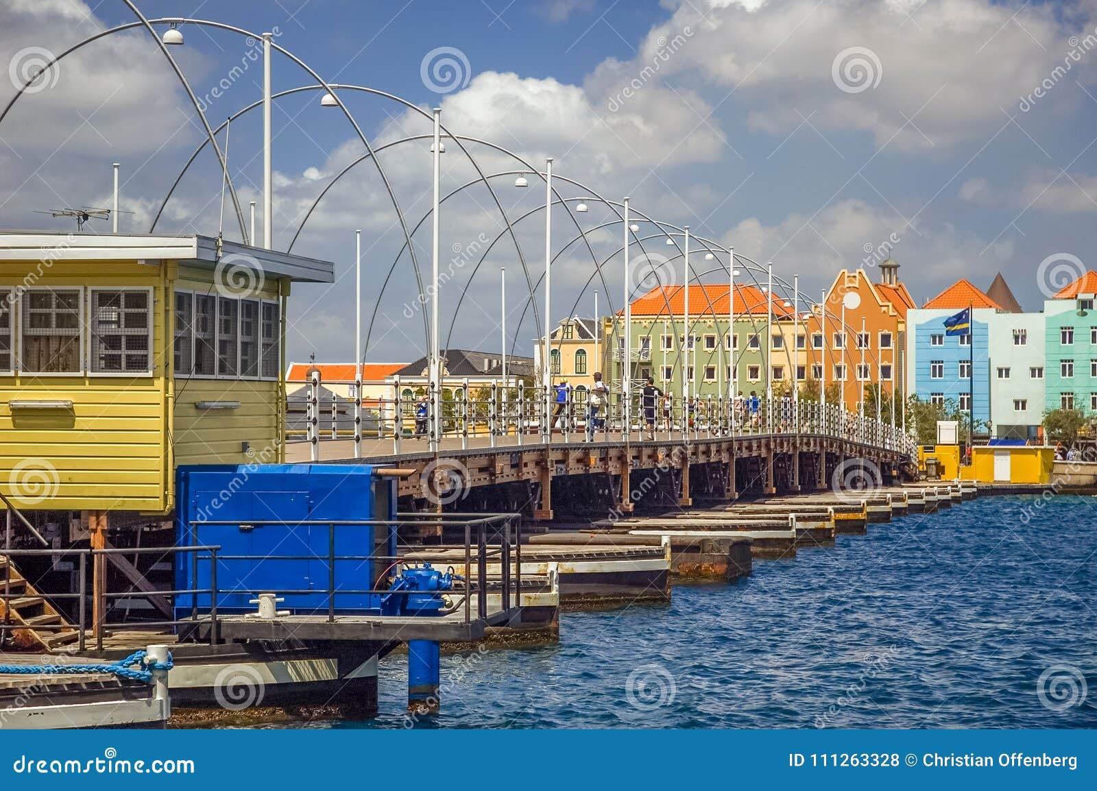 Reina Emma Bridge Willemstad, Curaçao