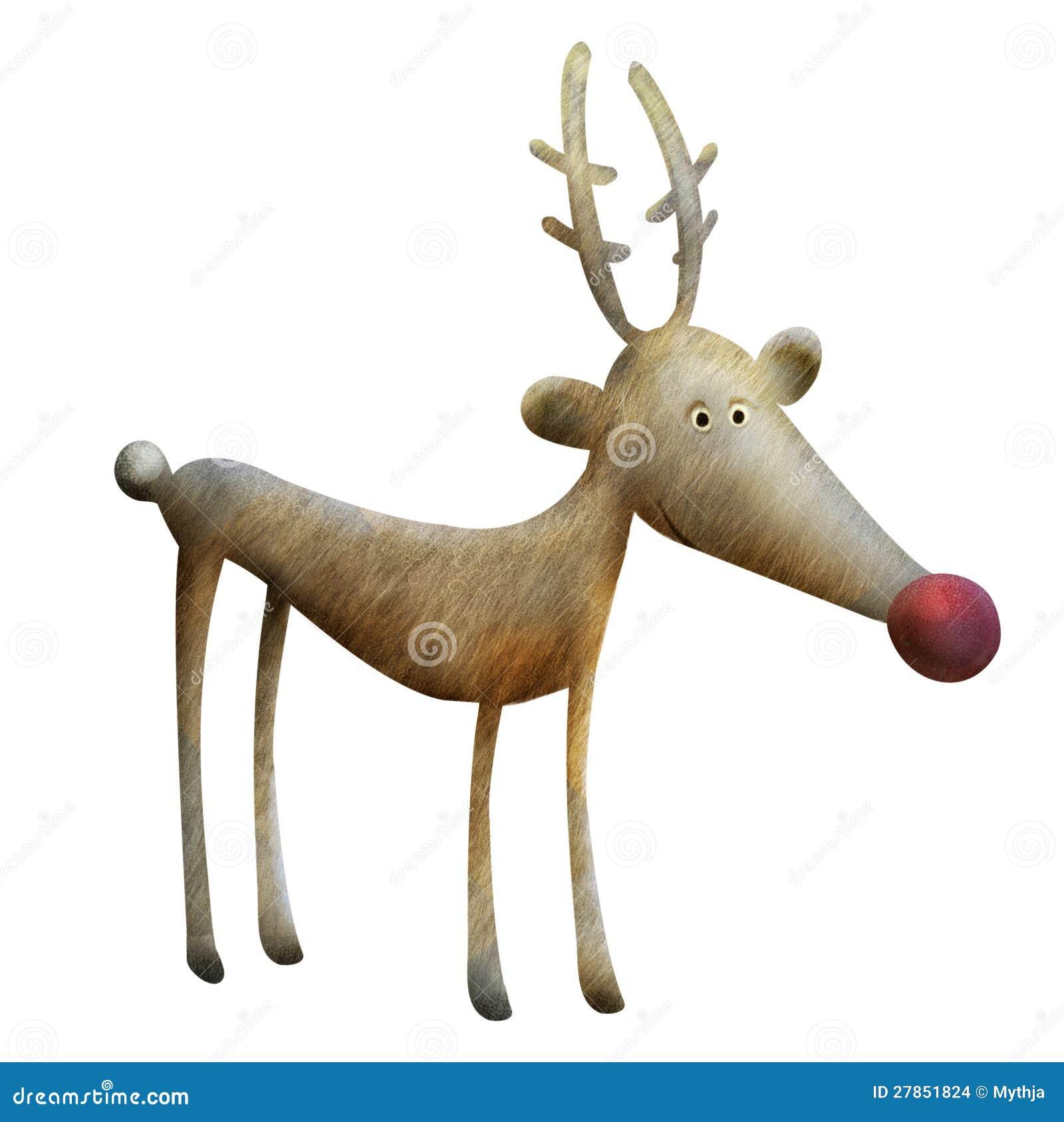 reindeer illustration stock images   image 27851824