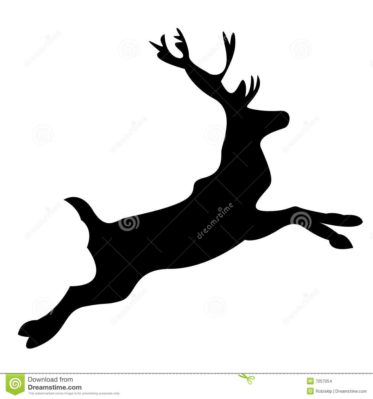 More similar stock images of ` Reindeer silhouette `