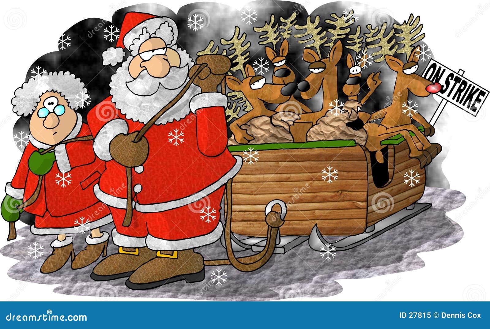 Reindeer on Strike