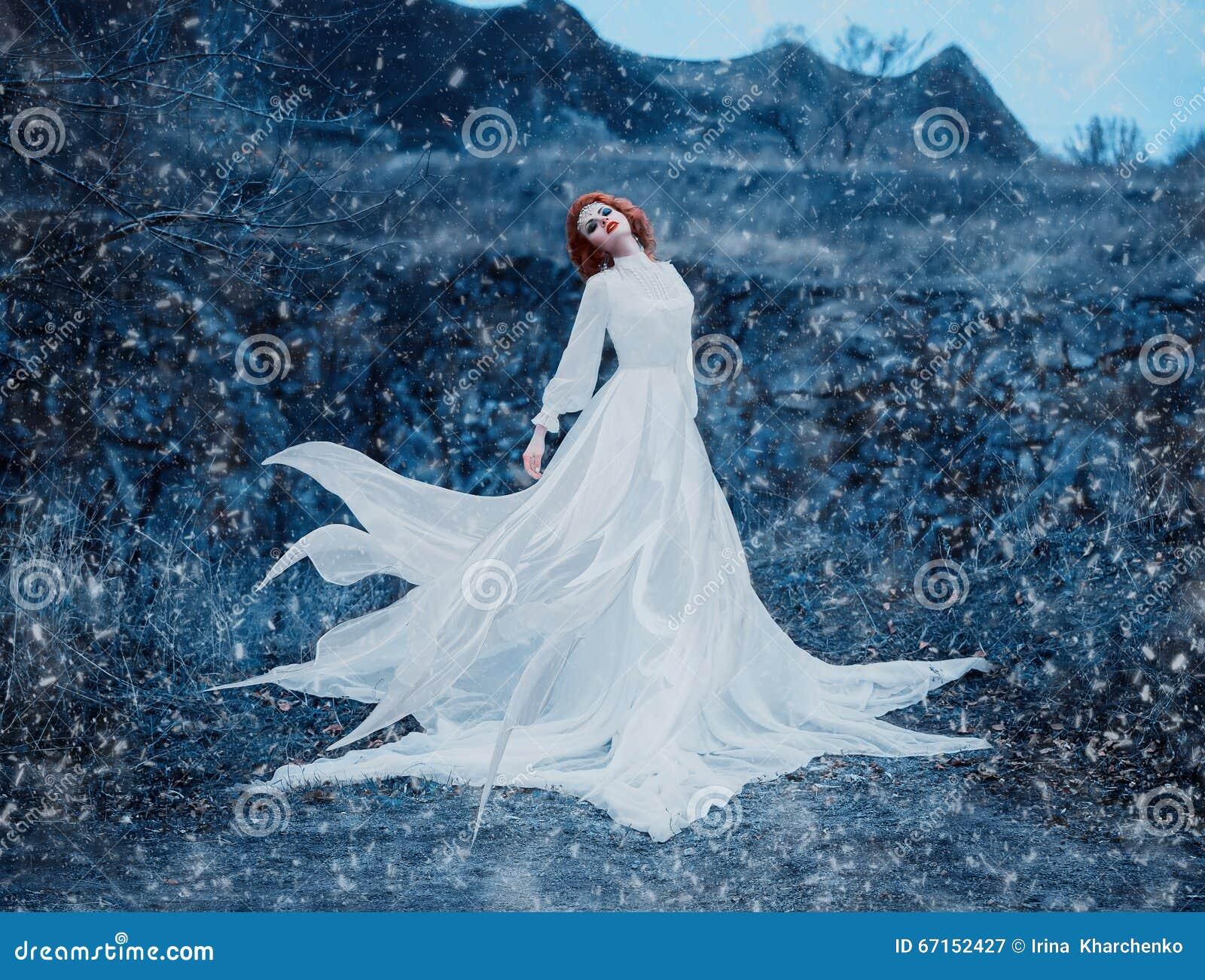 Reine de luxe de neige