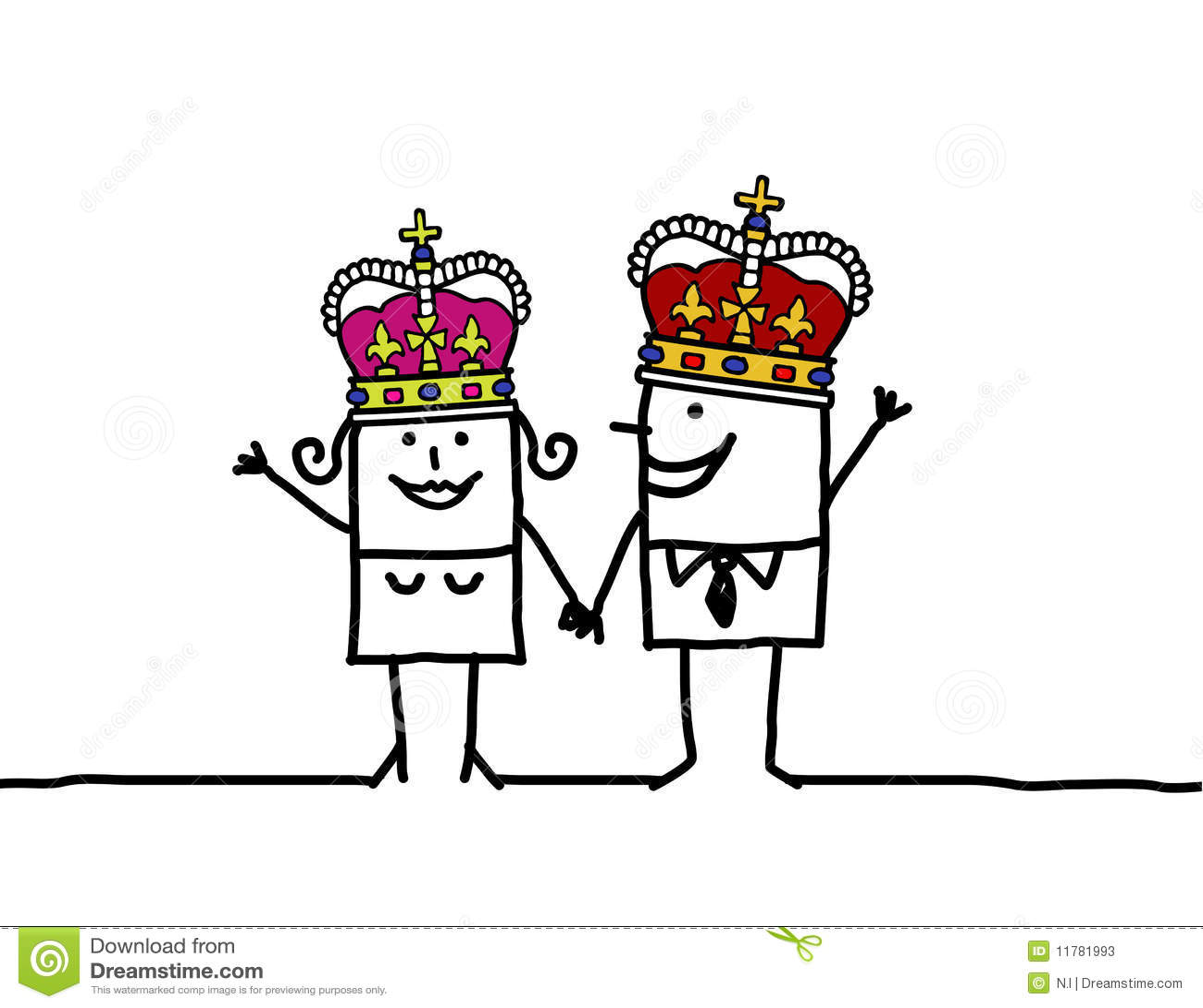 Reine et roi
