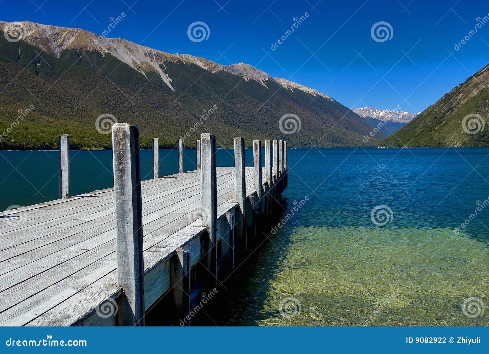 Reiner See Rotoiti Neuseeland
