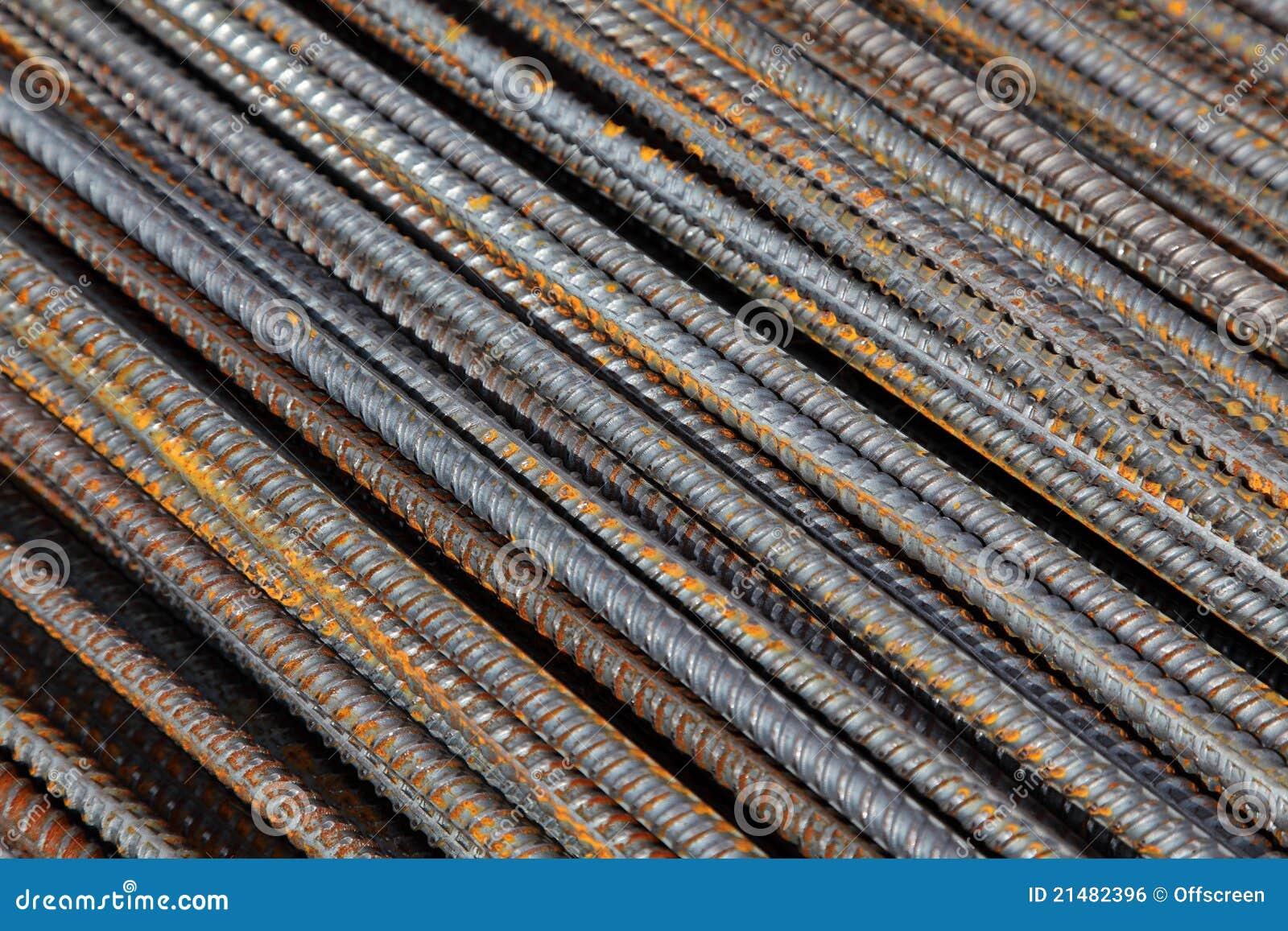 Steel Reinforcement Bars : Reinforcement bar royalty free stock image