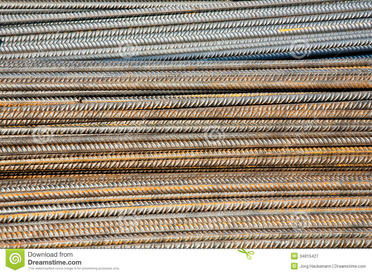 Reinforcing bar in detail