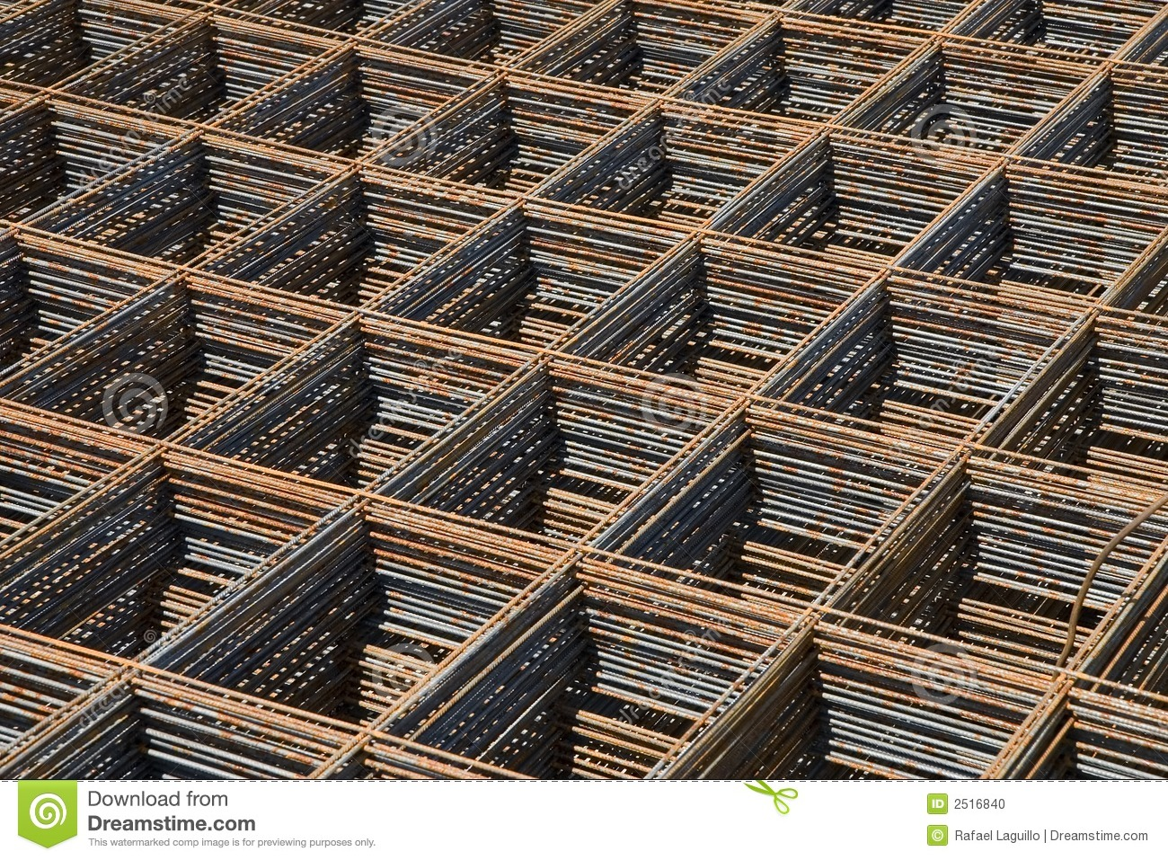 Reinforcing Bar Mesh Stock Photo Image Of Infrastructure