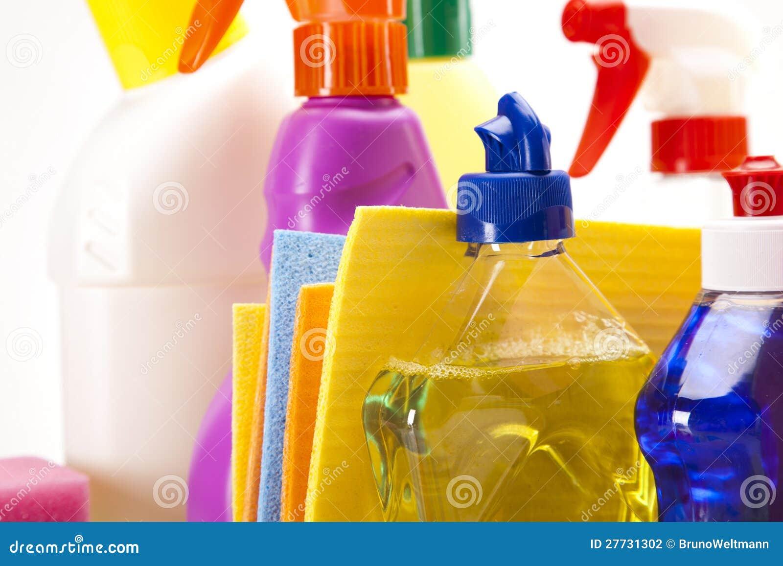 Reinigungsmittelnahaufnahme