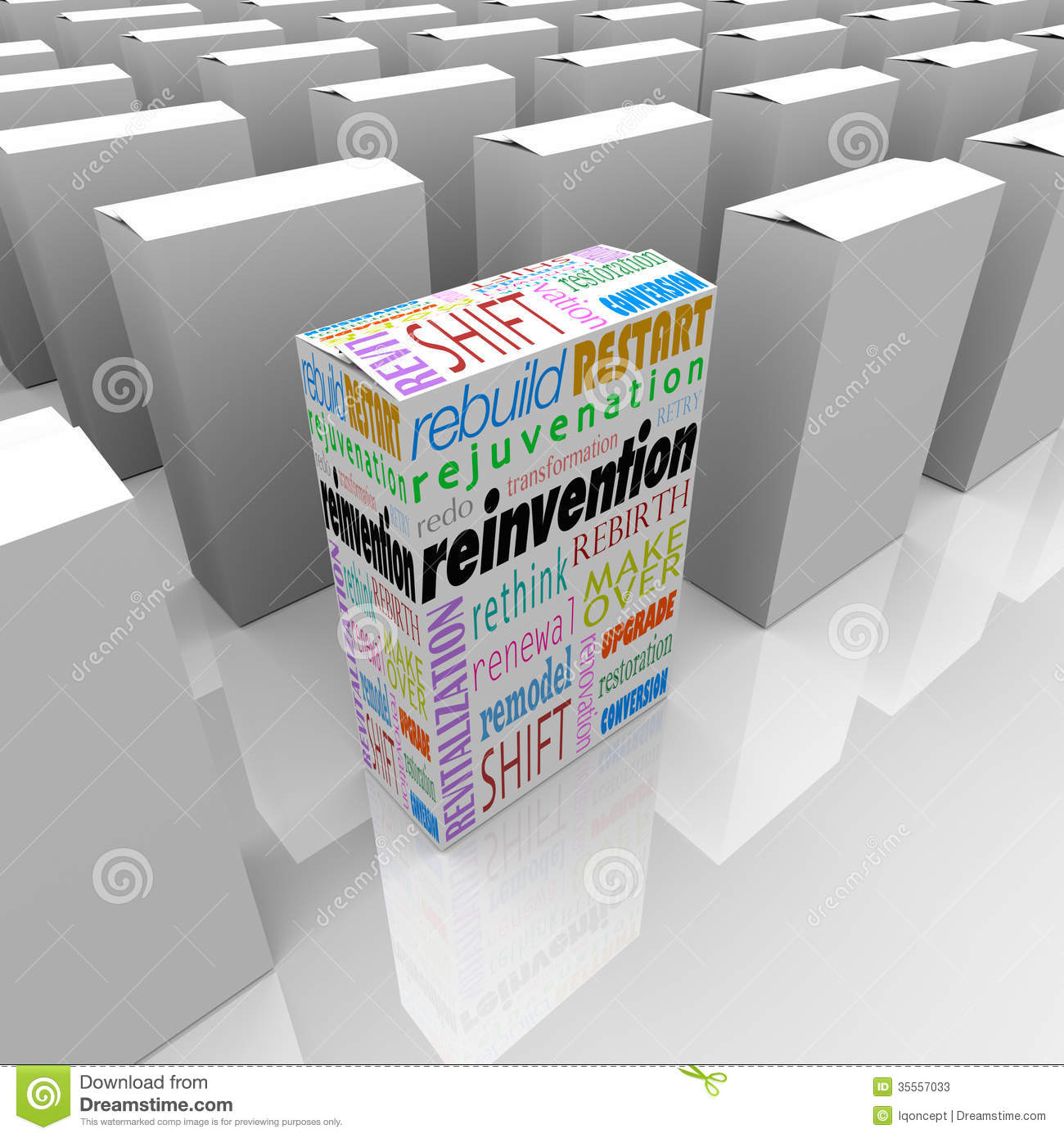 Reinvention One New Product Box Best Competitive Advantage