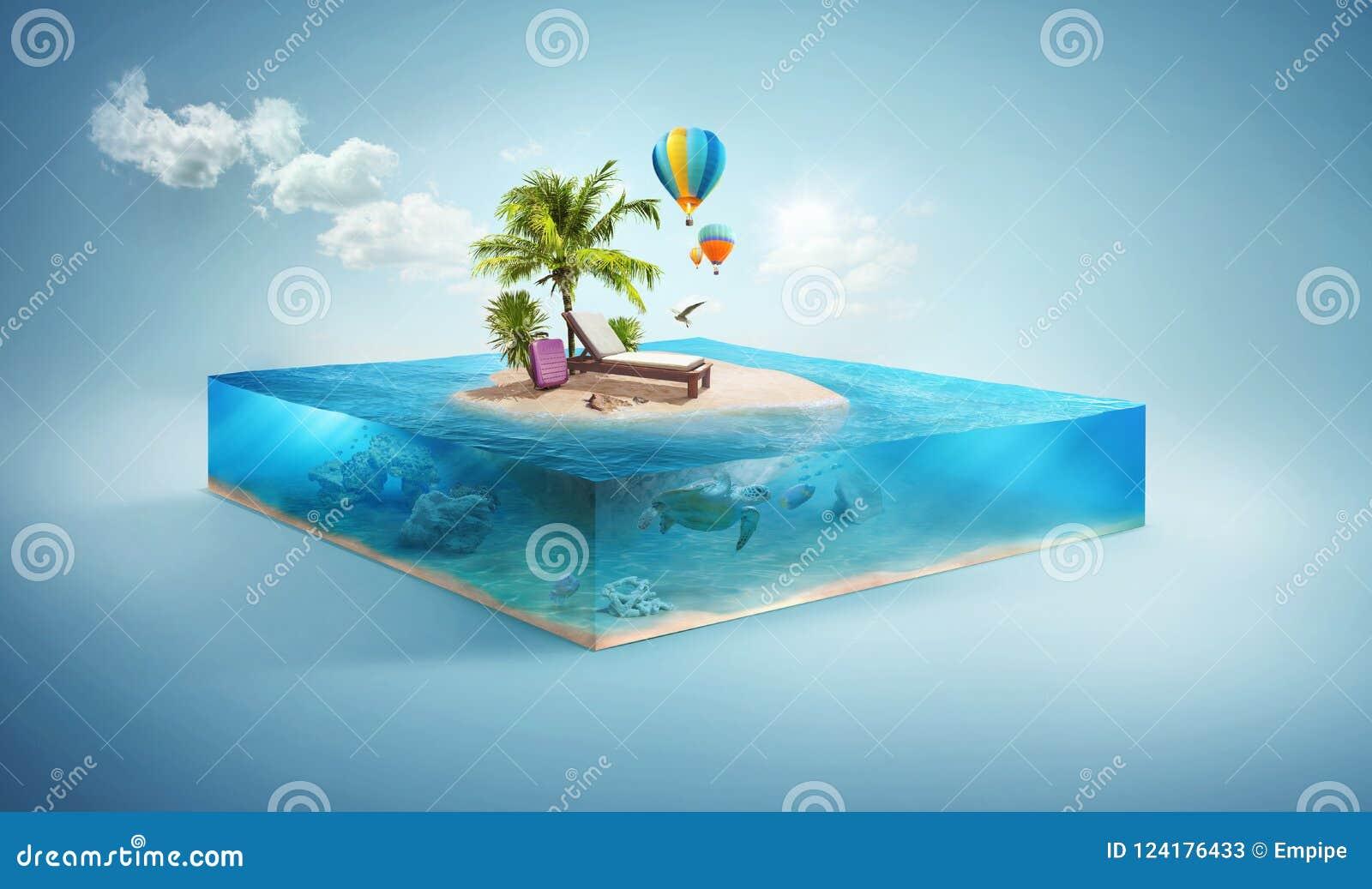 Reis en Vakantieachtergrond