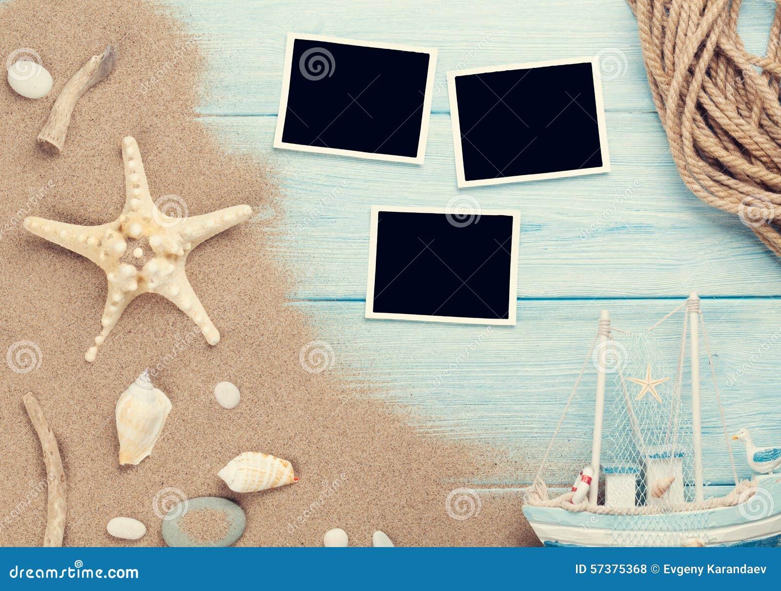 Reis en vakantiefotokaders en punten