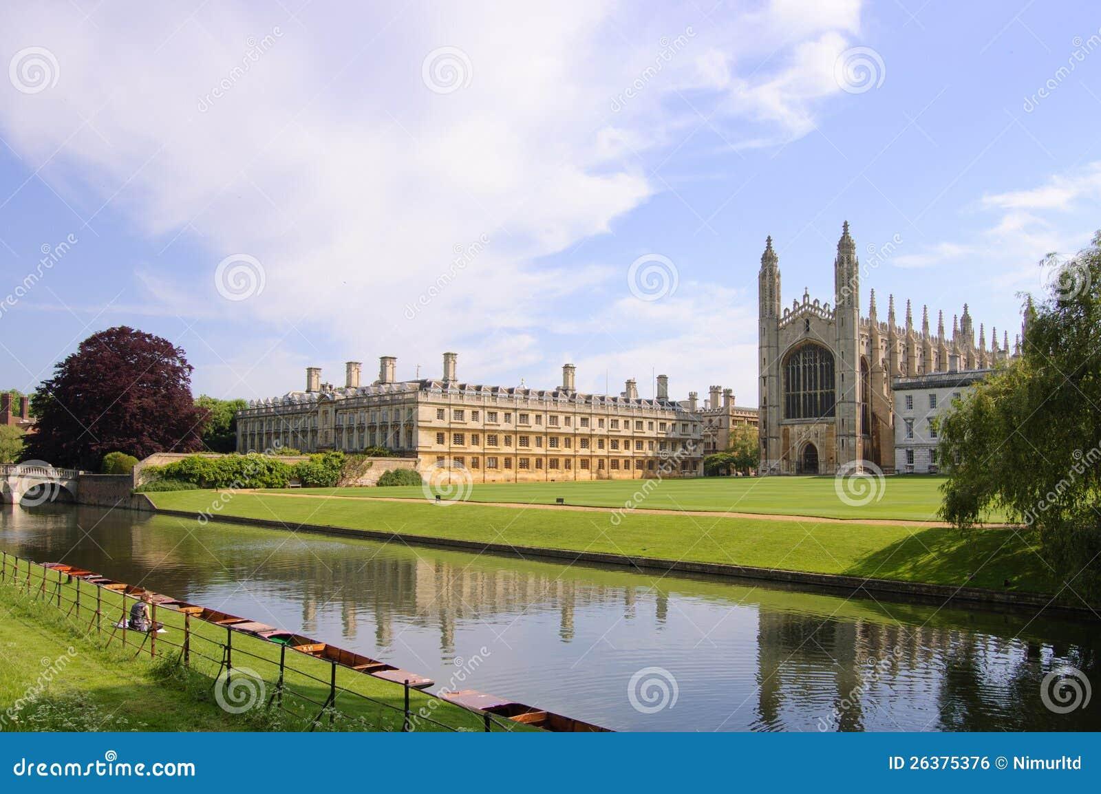 Reis Faculdade e capela, Cambridge